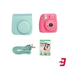 Фотоаппарат моментальной печати Fujifilm Instax Mini 9 Pink Line SET