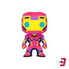 Фигурка Funko POP! Bobble: Marvel: Black Light: Iron Man (48846IE)