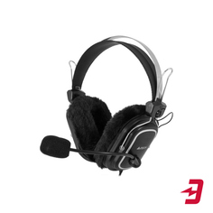 Наушники с микрофоном A4Tech HS-60 Black