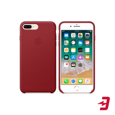 Чехол Apple для iPhone 8 Plus/7 Plus Leather Case Red (MQHN2ZM/A)