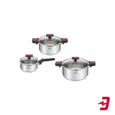 Набор посуды Tefal Cook&Clip, 6 предметов (G723S674)