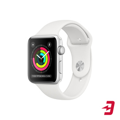 Смарт-часы Apple Watch S3 42mm Silver Aluminum Case with White Sport Band
