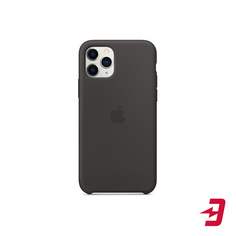 Чехол Apple Silicone Case для iPhone 11 Pro Black (MWYN2ZM/A)