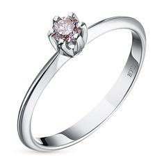 Кольцо из белого золота э0912кц08190200 ЭПЛ Якутские Бриллианты