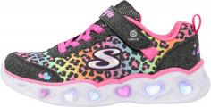 Кроссовки для девочек Skechers Heart Lights, размер 35