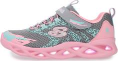 Кроссовки для девочек Skechers Twisty Brights, размер 30