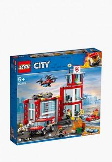 Конструктор City LEGO Пожарное депо