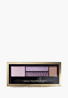 Палетка для глаз Max Factor Тени 4-хцветные для век и бровей, Smokey Eye Drama Kit 2 в 1, 04 luxe lilacs