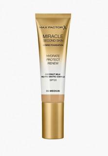 Тональное средство Max Factor Miracle Touch Second Skin, тон 05 medium, 30 мл