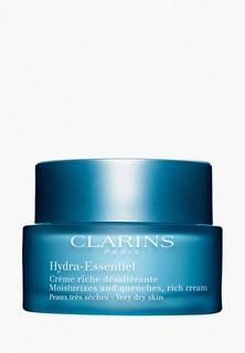 Крем для лица Clarins для сухой кожи Hydra-Essentiel, 50мл