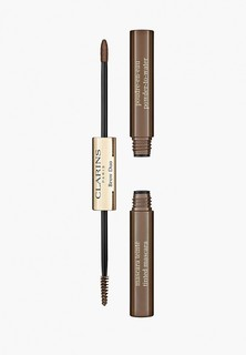 Набор для макияжа бровей Clarins Brow Duo, тон 03 Cool Brown, 1,8 гр+1 гр