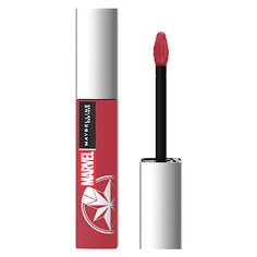 Помада для губ MAYBELLINE SUPER STAY MATTE INK MARVEL тон 80 жидкая матовая