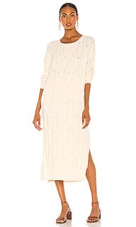 Платье миди camila - Line & Dot