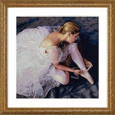 """Набор для вышивания """"Прекрасная балерина"""" 36 x 36 см Dimensions"""