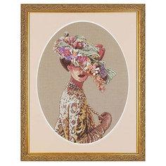 """Набор для вышивания """"Викторианская элегантность"""" 28 x 38 см Dimensions"""