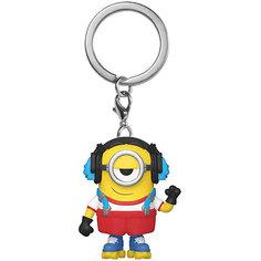 Брелок Funko Pocket POP! Keychain: Minions 2: Стюарт роллер, 47797-PDQ