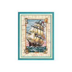 """Набор для вышивания Dimensions Золотая коллекция """"Кораблик"""""""