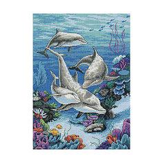 """Набор для вышивания Dimensions """"Владения дельфинов"""""""