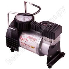 Металлический компрессор 35л/мин в прикуриватель сумка, 7атм skyway буран-06 s02001008