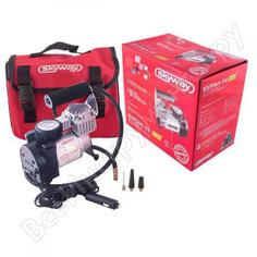 Металлический компрессор 45л/мин в прикуриватель hi-tech сумка, 7атм skyway буран-02 s02001004