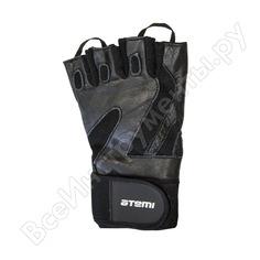 Перчатки для фитнеса atemi afg05xl, черные, размер xl 00000100942