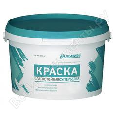 Краска альмира супербелая интерьерная влагостойкая 7 кг 00-00000068