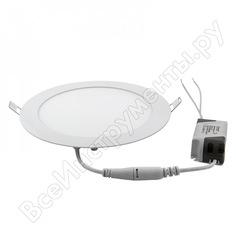 Светодиодный встраиваемый светильник general lighting systems круг 14w 924лм d168 2 шт. уп. 412169