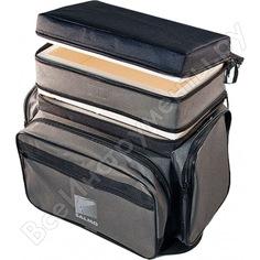 Рыболовный ящик-сумка-рюкзак salmo зимний пенопласт 2-х ярусный b-2 b-2lux