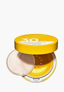 Крем солнцезащитный Clarins SPF 30, Compact Solaire Mineral Visage, 11,5 мл