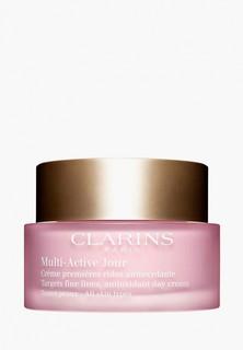 Крем для лица Clarins с антиоксидантным действием для любого типа кожи, MULTI-ACTIVE, 50мл