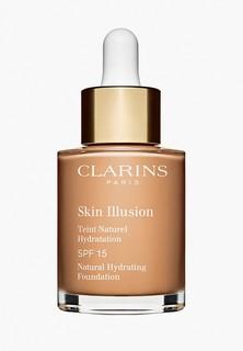 Тональный крем Clarins Skin Illusion SPF 15, оттенок 108.5 CASHEW, 30 мл