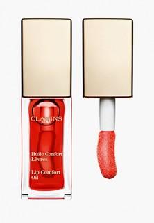 Блеск для губ Clarins масло, Lip Comfort Oil, 03 red berry, 7 мл