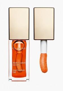 Блеск для губ Clarins масло, Lip Comfort Oil, 05 tangerine, 7 мл