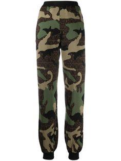 Moschino спортивные брюки с монограммой