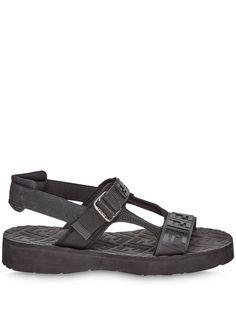Fendi сандалии с логотипом FF