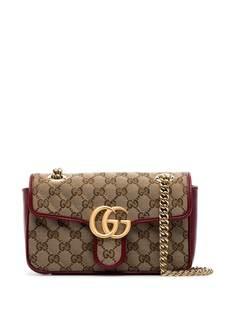 Gucci мини-сумка на плечо GG Marmont