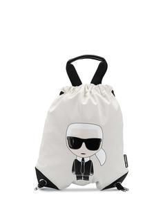 Karl Lagerfeld рюкзак K/Ikonik с кулиской