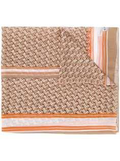 Burberry платок с принтом