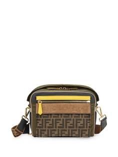 Fendi сумка-мессенджер среднего размера с логотипом FF