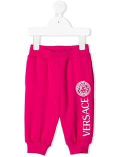 Young Versace спортивные брюки с логотипом