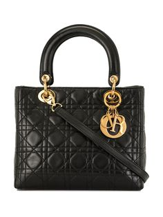 Christian Dior сумка pre-owned Lady Dior Cannage