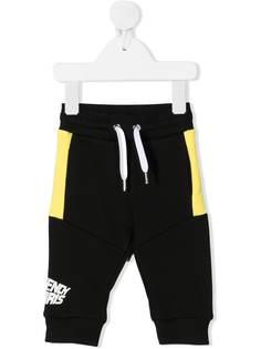Givenchy Kids спортивные брюки с контрастными вставками