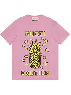 Gucci футболка Gucci Exotica с принтом