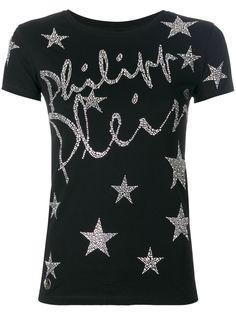 Philipp Plein футболка с логотипом Star