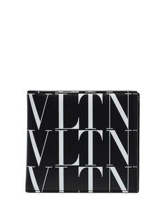 Valentino Garavani бумажник с логотипом VLTN