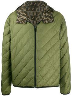 Fendi двусторонняя стеганая куртка