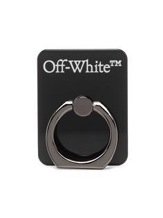 Off-White брелок с логотипом