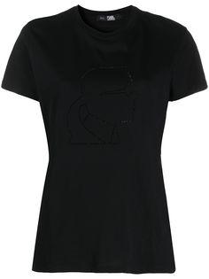 Karl Lagerfeld футболка с принтом