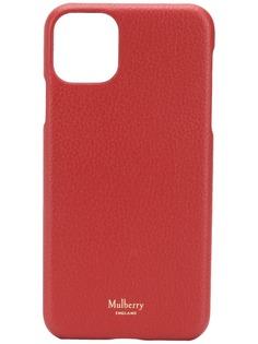 Mulberry чехол для iPhone 11 Pro Max с логотипом