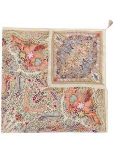 Etro шифоновый платок с принтом пейсли